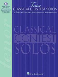 Classical Contest Solos - cover