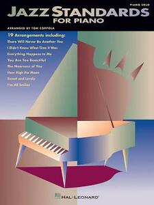 Jazz Standards for Piano - Hal Leonard Publishing Corporation - cover