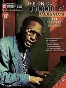 Jazz Play-Along Volume 90: Thelonious Monk Classics - cover
