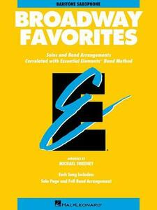 Broadway Favorites: Eb Baritone Saxophone - Hal Leonard Publishing Corporation - cover