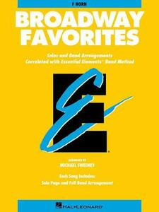 Broadway Favorites: F Horn - Hal Leonard Publishing Corporation - cover