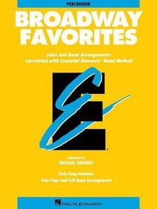 Broadway Favorites: Percussion - Hal Leonard Publishing Corporation - cover