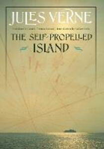 The Self-Propelled Island - Jules Verne - cover