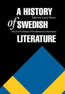 A History of Swedish Literature - cover