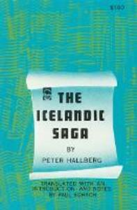 Icelandic Saga - Peter Hallberg - cover