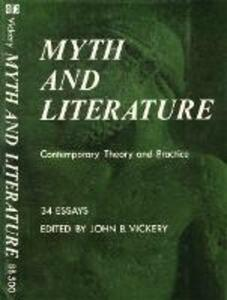 Myth and Literature: Contemporary Theory and Practice - cover