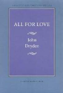 All for Love - John Dryden - cover