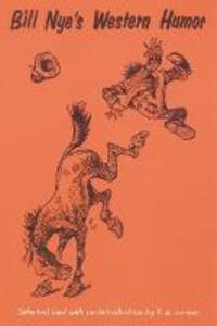 Bill Nye's Western Humor - Bill Nye - cover