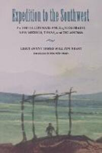 Expedition to the Southwest: An 1845 Reconnaissance of Colorado, New Mexico, Texas, and Oklahoma - James William Abert - cover