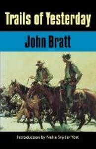 Trails of Yesterday - John Bratt - cover