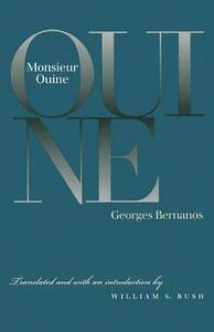 Monsieur Ouine - Georges Bernanos - cover