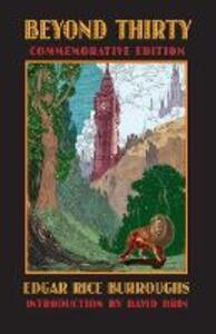 Beyond Thirty - Edgar Rice Burroughs - cover