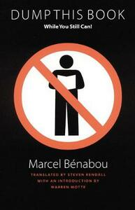 Dump This Book While You Still Can! - Marcel Benabou - cover