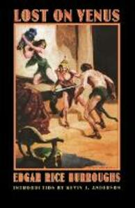 Lost on Venus - Edgar Rice Burroughs - cover