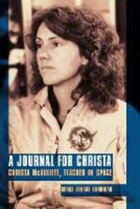 A Journal for Christa: Christa McAuliffe, Teacher in Space - Grace George Corrigan - cover