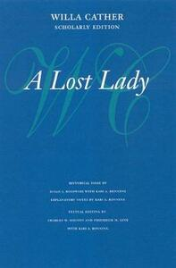 A Lost Lady - Willa Cather - cover
