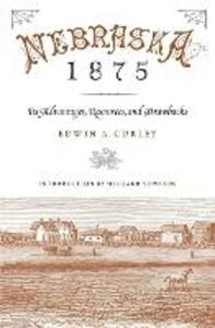 Nebraska 1875: Its Advantages, Resources, and Drawbacks - Edwin A. Curley - cover