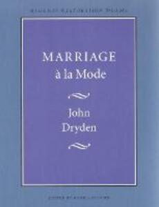 Marriage a la Mode - John Dryden - cover