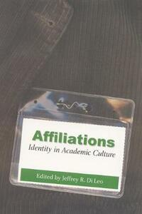 Affiliations: Identity in Academic Culture - cover