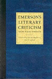 Emerson's Literary Criticism - Ralph Waldo Emerson - cover