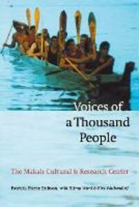 Voices of a Thousand People: The Makah Cultural and Research Center - Patricia Pierce Erikson - cover