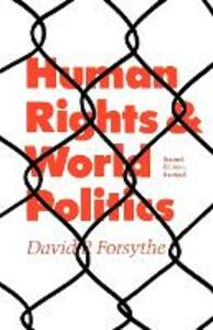 Human Rights and World Politics - David P. Forsythe - cover