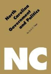 North Carolina Government and Politics - Jack D. Fleer - cover