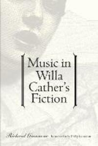 Music in Willa Cather's Fiction - Richard Giannone - cover