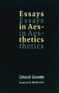 Essays in Aesthetics - Gerard Genette - cover