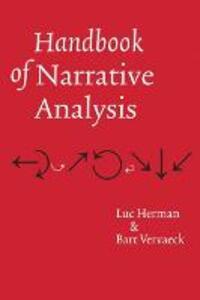 Handbook of Narrative Analysis - Bart Vervaeck,Luc Herman - cover