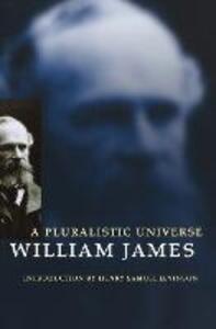 A Pluralistic Universe - William James - cover