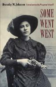 Some Went West - Dorothy M. Johnson - cover