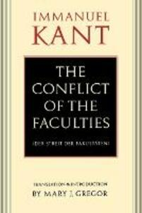 The Conflict of the Faculties - Immanuel Kant - cover