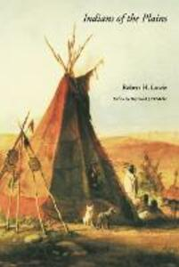 Indians of the Plains - Robert H. Lowie - cover