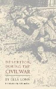 Desertion during the Civil War - Ella Lonn - cover