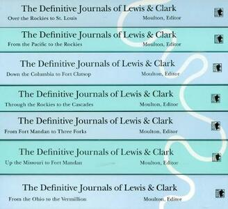 The Definitive Journals of Lewis and Clark, 7-volume set - Meriwether Lewis,William Clark - cover
