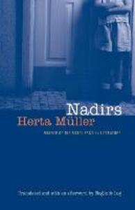 Nadirs - Herta Muller - cover