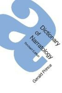 A Dictionary of Narratology - Gerald Prince - cover