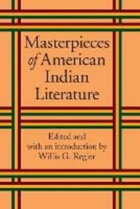 Masterpieces of American Indian Literature - cover