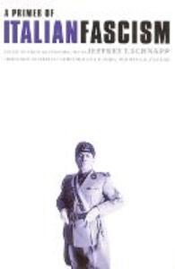 A Primer of Italian Fascism - cover