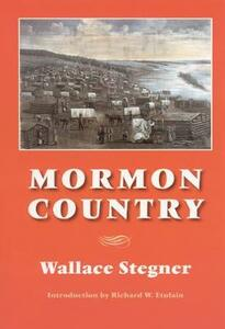 Mormon Country - Wallace Stegner - cover