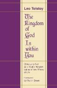The Kingdom of God Is within You - Leo Tolstoy - cover