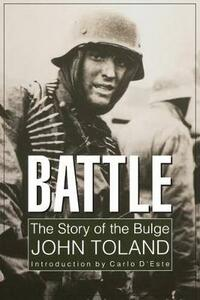 Battle: The Story of the Bulge - John Toland - cover