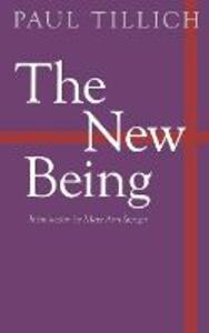The New Being - Paul Tillich - cover