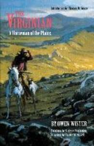 The Virginian: A Horseman of the Plains - Owen Wister - cover