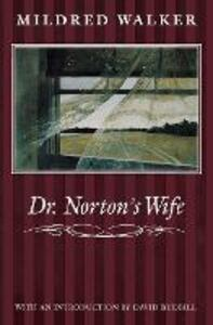 Dr. Norton's Wife - Mildred Walker - cover