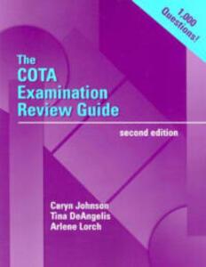 The Cota Examination Review Guide - Johnson - cover