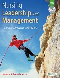 Nursing Leadership and Management: Theories, Processes and Practice - Rebecca Patronis Jones - cover