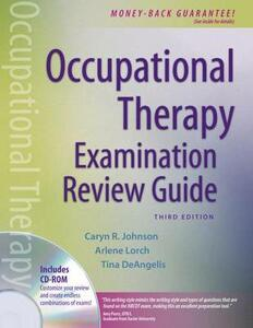 Occupational Therapy Examination Review Guide - Caryn Johnson,Arlene Lorch,Tina DeAngelis - cover