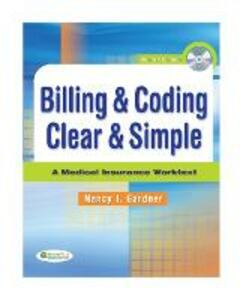 Billing & Coding Clear & Simple - Gardner - cover